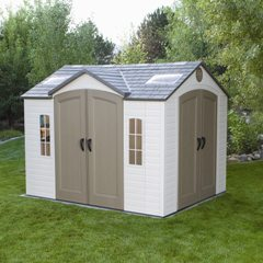 Garden Sheds 10 X 8 bettymills: 10' x 8' garden shed with 2 doors - lifetime products