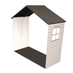 LTM6426 - Lifetime Products5 Extension Kit with Two Windows for 11 Sheds