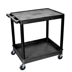 LUXTC21-B - Luxor2-Shelf Tub Cart