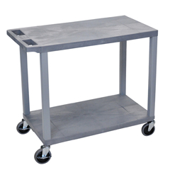 LUXEC22-G - Luxor18x32 Cart with 2 Flat Shelves
