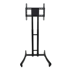 LUXFP1000 - LuxorAdjustable Height Rolling TV Stand
