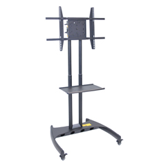 LUXFP3500 - LuxorFP3500 Series Adjustable Flat Panel Cart and Rotating Mount