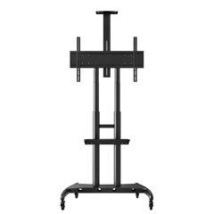 LUXFP4000 - Luxor - Adjustable Height Large TV Mount for 40-90 Flat Panel TV