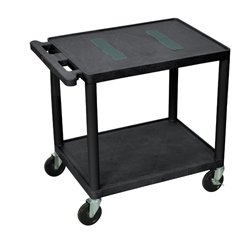 LUXLE26-B - LuxorEndura Video Equipment Table