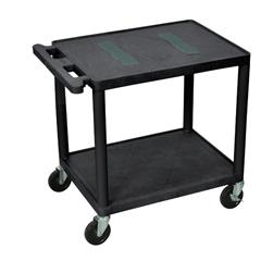 LUXLE27-B - Luxor - Endura Video Equipment Table