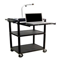 LUXLP42LE-B - LuxorLP Series Presentation Cart