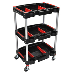 LUXMC-3 - Luxor3 Shelf Mechanics Cart