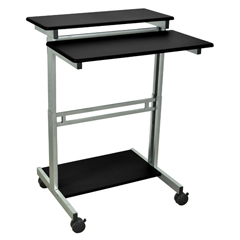 LUXSTANDUP-31.5-B - Luxor - 31.5W Stand Up Workstation
