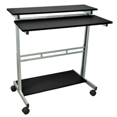 LUXSTANDUP-40-B - Luxor40W Stand Up Workstation