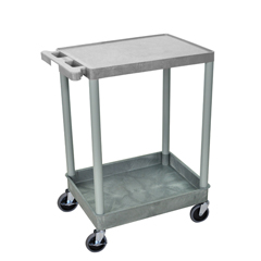 LUXSTC21-G - Luxor2-Shelf Tub Cart