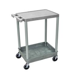 LUXSTC21-G - Luxor - 2-Shelf Tub Cart