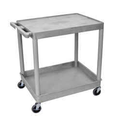 LUXTC21-G - Luxor2-Shelf Tub Cart