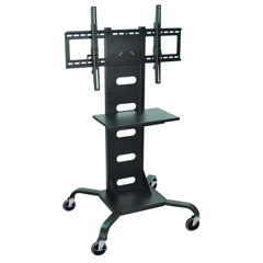 LUXWPSMS51 - LuxorMobile Flat Panel TV Stand + Mount