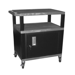 LUXWT34GYC2E-B - LuxorTuffy Cart with Cabinet