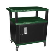 LUXWT42HGC2E-B - LuxorTuffy Cart with Cabinet