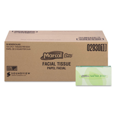 MAC2930 - MarcalPro 100% Premium Recycled Convenience Pack Facial Tissue