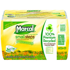MAC6024 - Small Steps® 100% Recycled Two-Ply Bathroom Tissue