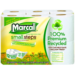 MAC6112 - Small Steps® 100% Recycled Two-Ply Bathroom Tissue