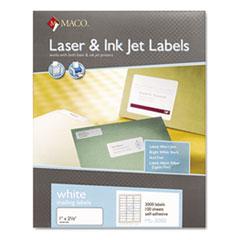 MACML3000 - Maco® White Multipurpose Labels