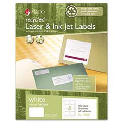 MACRL7000 - Maco® Recycled Name Badge Labels
