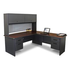MLGPRNT6DTMA_8563 - Marvel GroupPronto® Desk w/Return & Pedestal