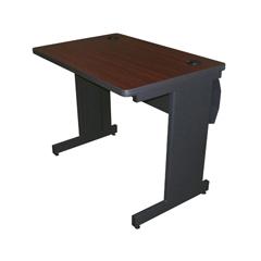 MLGPTR3624L_DTMA - Marvel GroupPronto® School Training Table w/Lockable Raceway