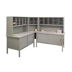 MLGUTIL0031 - Marvel Group60 Adjustable Slot Literature Organizer w/Cabinet