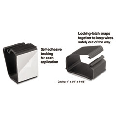 MAS00204 - Master Caster® Cord Away® Wire Clips
