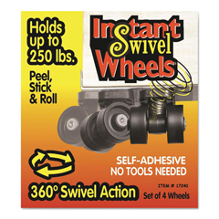 MAS17240 - Master Caster® Roll-Arounds® Instant Swivel Wheels