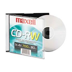 MAX630010 - Maxell® CD-RW Rewritable Disc