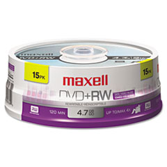 MAX634046 - Maxell® DVD+RW Rewritable Disc
