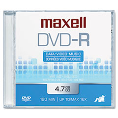 MAX638000 - Maxell® DVD-R Recordable Disc
