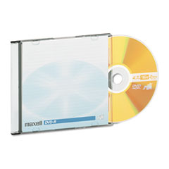 MAX638004 - Maxell® DVD-R Recordable Disc