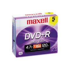 MAX639002 - Maxell® DVD+R High-Speed Recordable Disc
