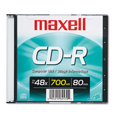 MAX648201 - Maxell® CD-R Recordable Disc