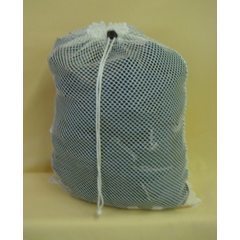 MAYL530DS-W - MaybeckPolyester Mesh Laundry Bag with Drawstring Closure