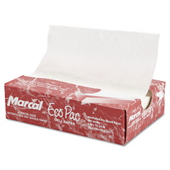 MCD5291 - Eco-Pac Natural Interfolded Dry Wax Paper Sheets