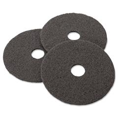 MCO08379 - Black Stripper Floor Pads 7200