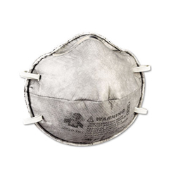 MCO54358 - N95 Particulate Respirator 8247 With Nuisance-Level Organic Vapor Relief