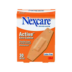 MCO99512 - Nexcare™ Active™ Extra Cushion Flexible Foam Bandages