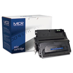 MCR38AM - MICR Print Solutions Compatible with Q1338AM MICR Toner, 12,000 Page-Yield, Black
