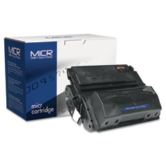 MCR39AM - MICR Print Solutions Compatible with Q1339AM MICR Toner, 18,000 Page-Yield, Black