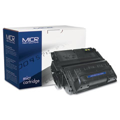 MCR42AM - MICR Print Solutions Compatible with Q5942AM MICR Toner, 10,000 Page-Yield, Black