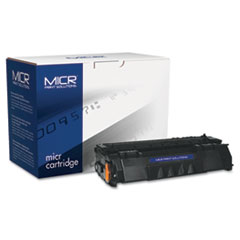 MCR49AM - MICR Print Solutions Compatible with Q5949AM MICR Toner, 2,500 Page-Yield, Black