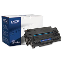 MCR51AM - MICR Print Solutions Compatible with C7551AM MICR Toner, 6,500 Page-Yield, Black
