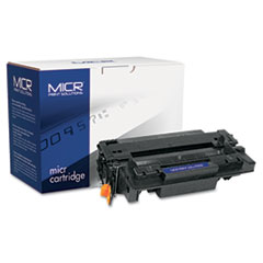 MCR55XM - MICR Print Solutions Compatible with CE255XM MICR High-Yield Toner, 12,500 Page-Yield, Black