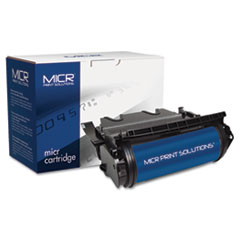 MCR630M - MICR Print Solutions Compatible with T630M MICR Toner, 21,000 Page-Yield, Black