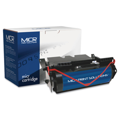 MCR640M - MICR Print Solutions Compatible with T640M High-Yield MICR Toner, 21,000 Page-Yield, Black
