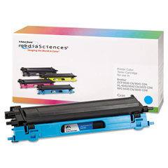 MDA39408 - Media Sciences MDA39408 HL-4040 Compatible, Reman, TN115C Laser Toner, 4,000 Yield, Cyan