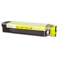 MDA40036 - Media Sciences MDA40036 C6100 Compatible, New Build, 43865717 Laser Toner, 6,000 Yield, Yellow